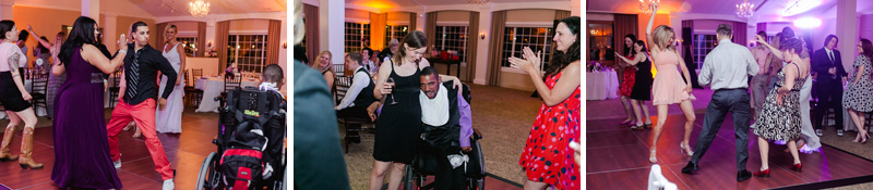 Fun, quirky, hip wedding reception photography