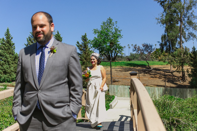 First Look at Grace Simons Lodge wedding Elysian Park