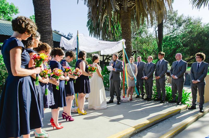 Los Angeles wedding photography Grace Simons Lodge ceremony