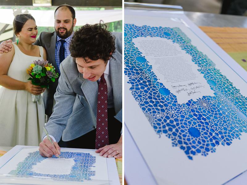 Modern Jewish wedding photography Los Angeles