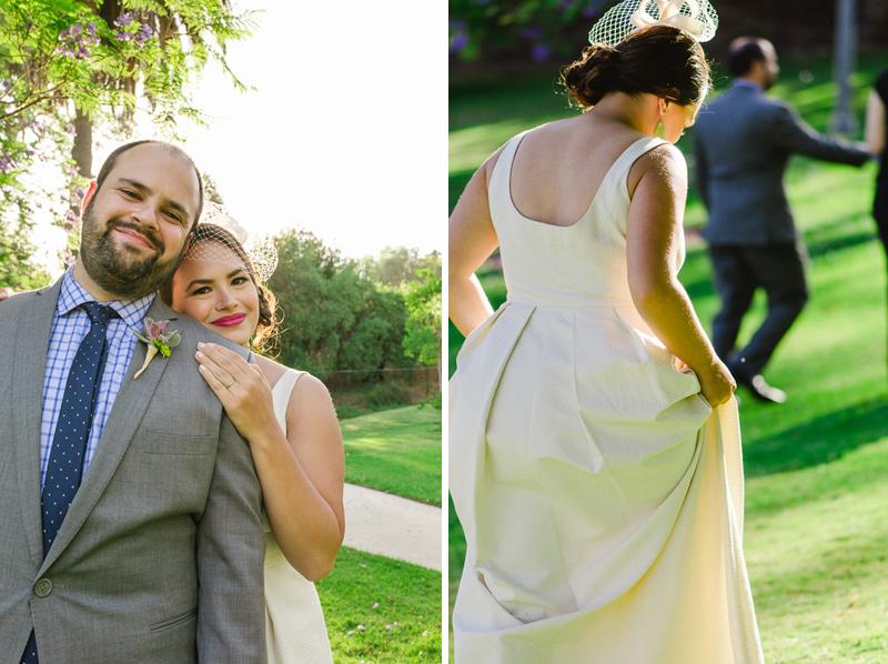 Modern natural Los Angeles wedding photographer