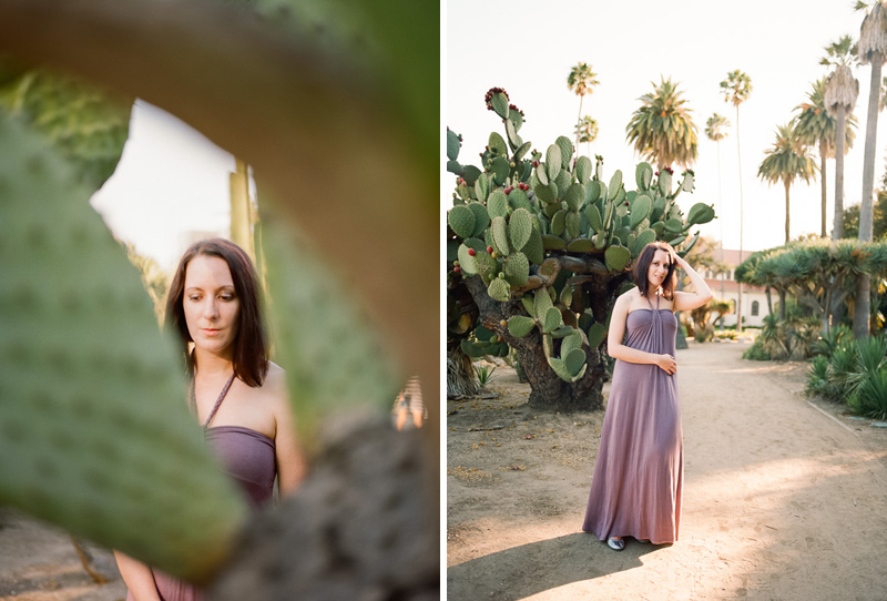 Los Angeles Beverly Hills desert fashion and portrait film photography