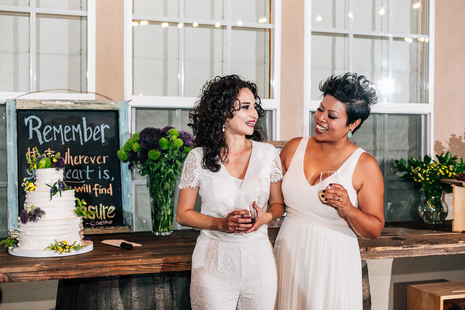 Los Angeles gay and lesbian wedding photography