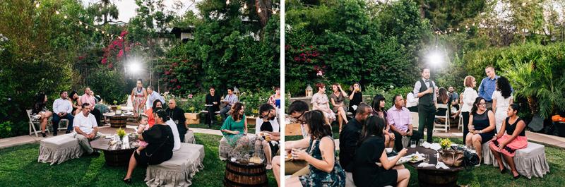 pasadena backyard wedding photography by Jessica Schilling