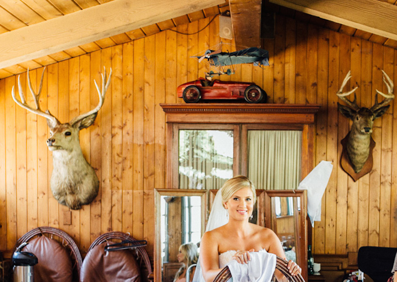 Rustic Lodge wedding at Saddlepeak Lodge Malibu