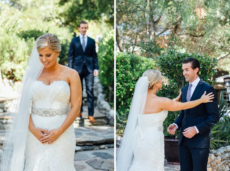 Saddle Peak Lodge Calabasas wedding photographer