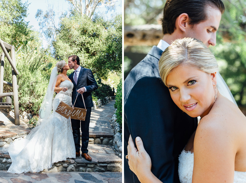 Malibu romantic rustic wedding at Saddle Peak Lodge