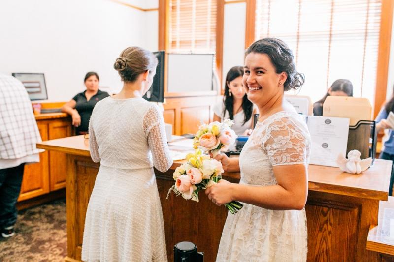 Los Angeles and Orange County courthouse wedding photographer