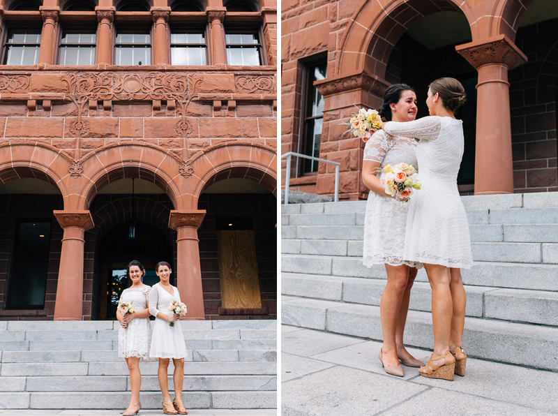 Old Orange County Courthouse wedding photographer