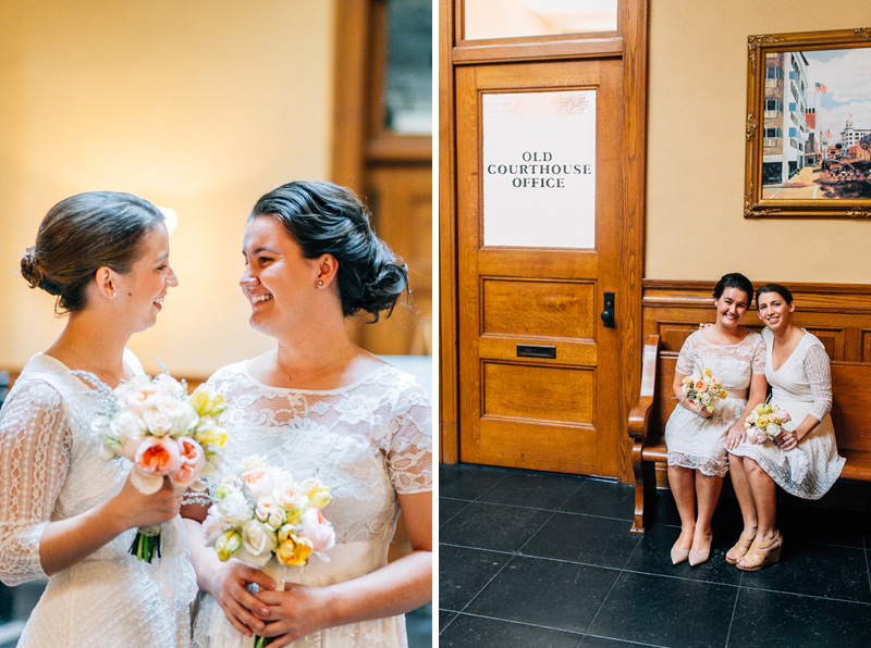 Old Orange County Courthouse wedding photography