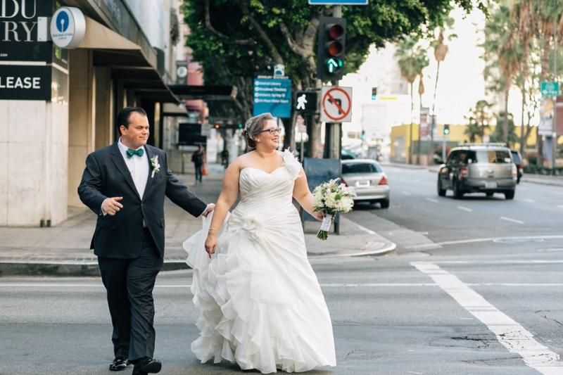 Los Angeles DTLA wedding photographer