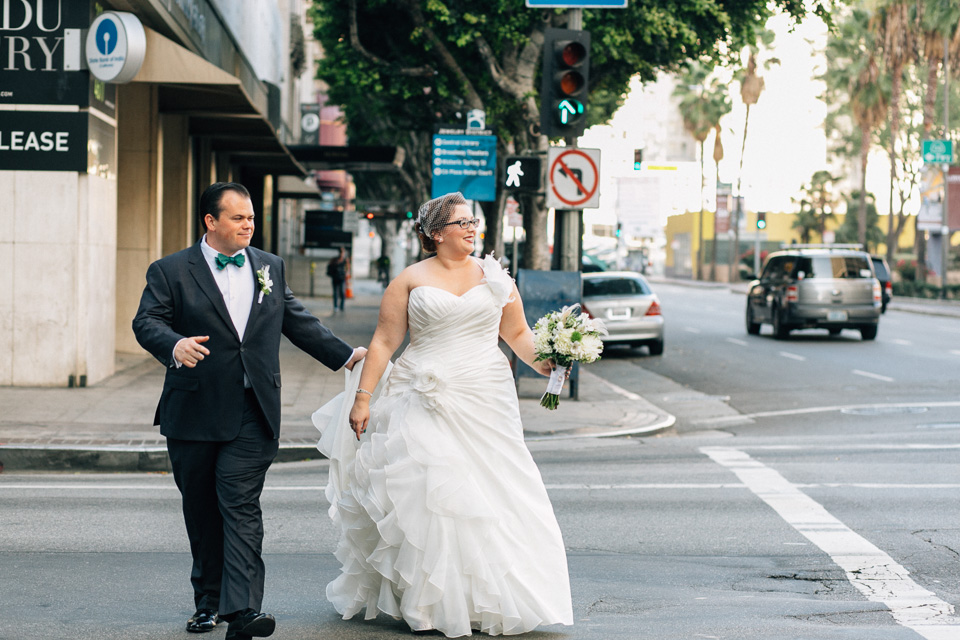 Los Angeles DTLA wedding photographer