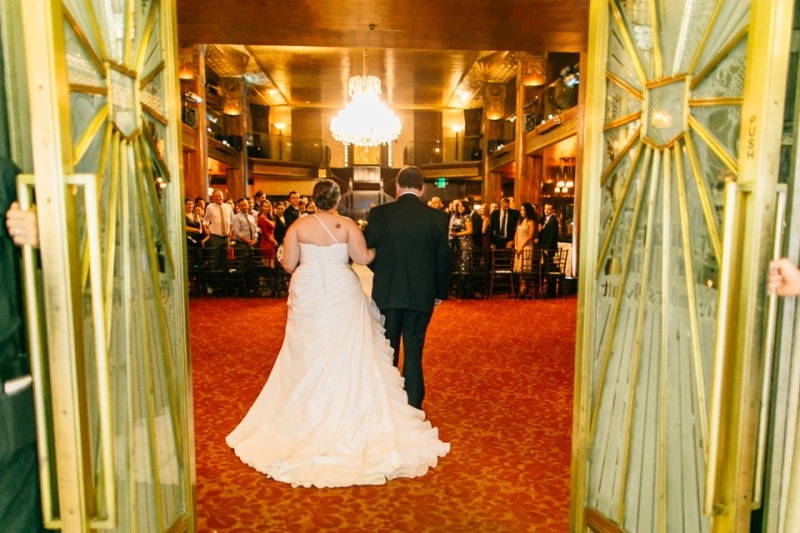 art deco wedding in downtown Los Angeles