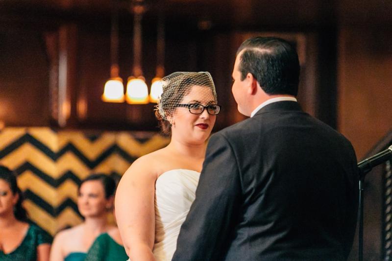 Los Angeles wedding photographer Jessica Schilling. Indoor ceremony.