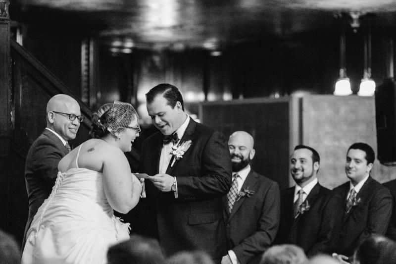 Cicada Club wedding ceremony