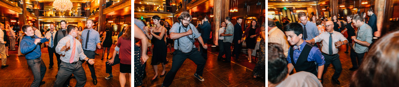 LA wedding reception at Cicada Club