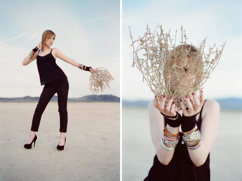 desert fashion film photography