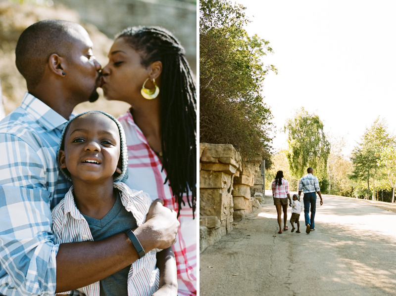 LA lifestyle documentary family photography on film