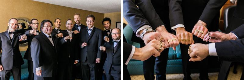 Groomsmen Long Beach wedding photographer
