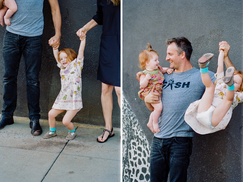 Los Angeles family photography 35mm film lifestlyle