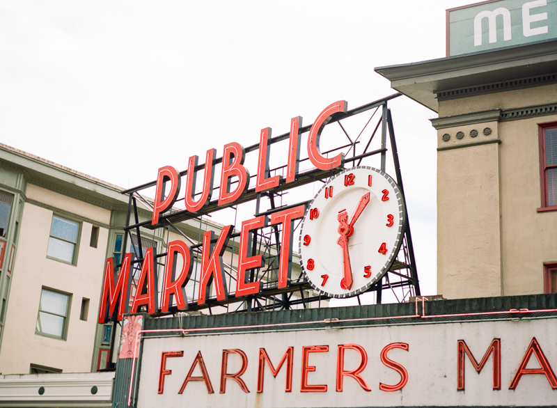 Seattle Pike Place travel, lifestyle, and adventure photography