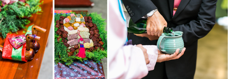 Korean paebaek ceremony details