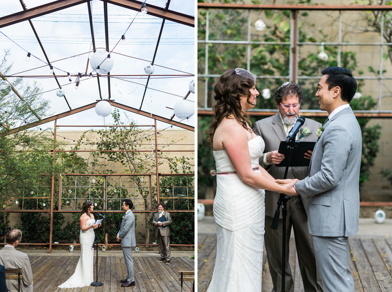 Elysian LA venue for offbeat, DIY wedding ceremony