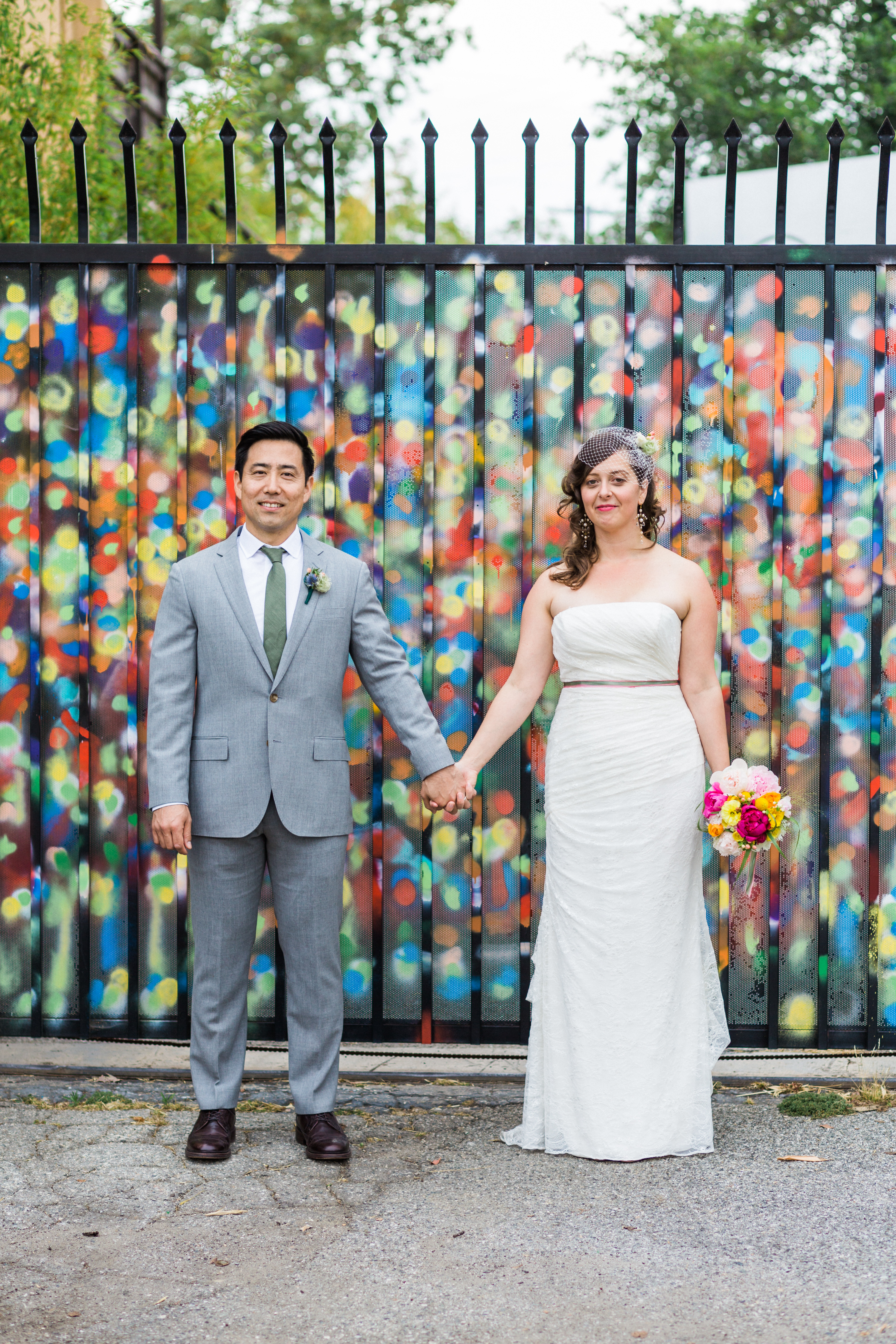 Modern, romantic, colorful, offbeat wedding photography in Los Angeles
