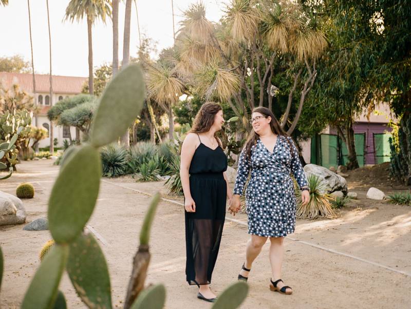 Los Angeles desert engagement session LGBTQ photography