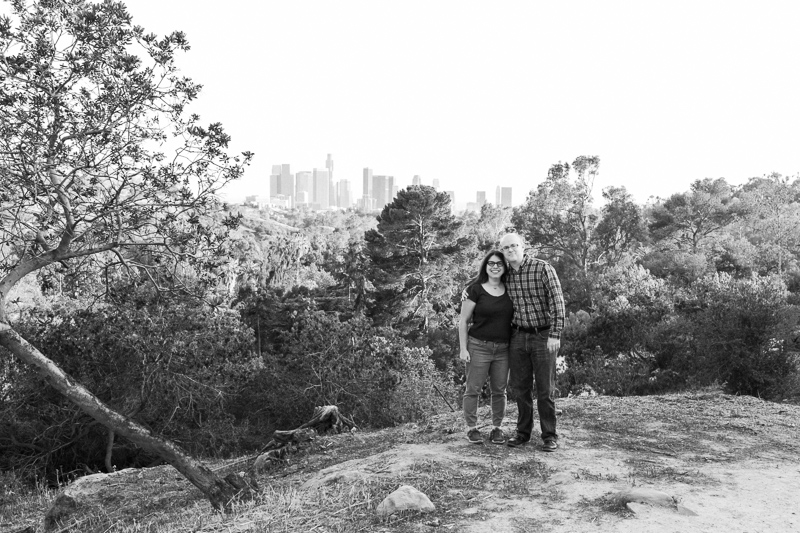 Natural, candid Los Angeles engagement photography