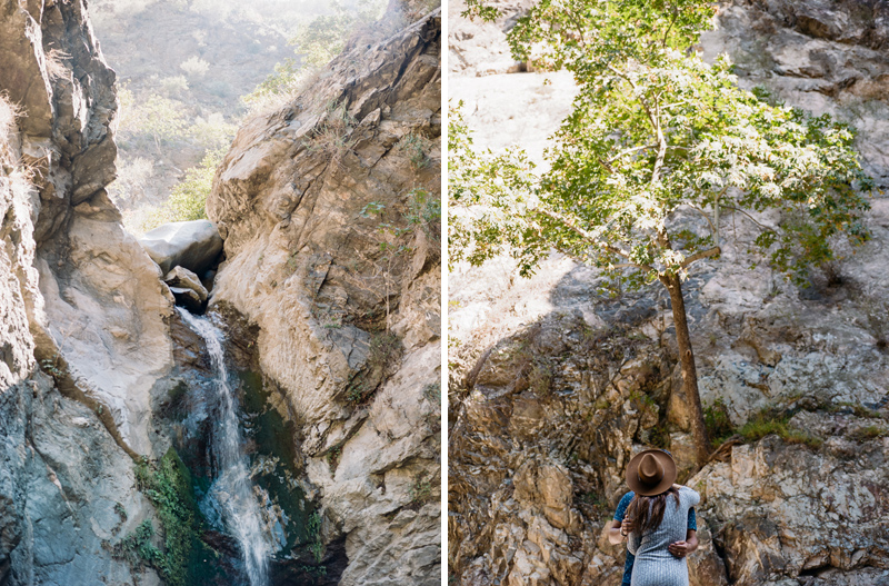Los Angeles Eaton Canyon natural outdoor engagement adventure photographer