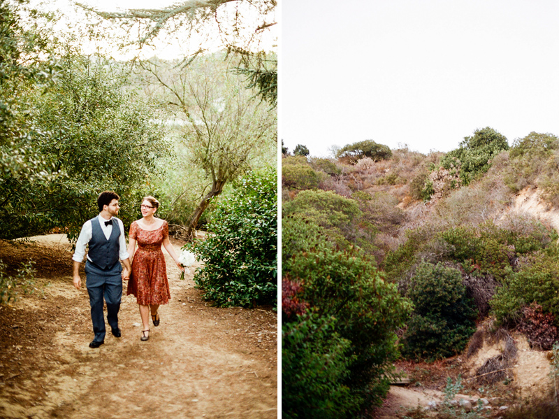beautiful, natural, outdoor elopement destinations in Southern California