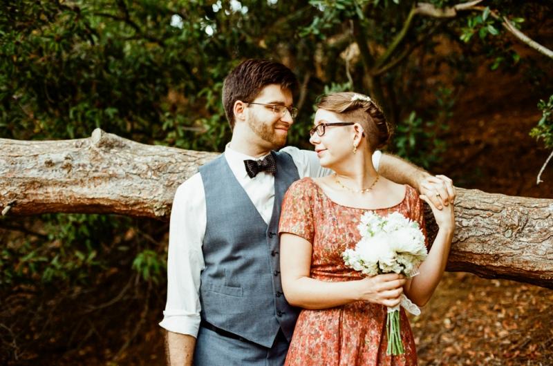Los Angeles elopement photographer - outdoor weddings on film