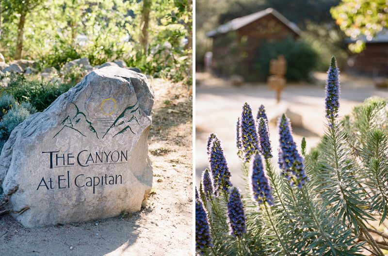 El Capitan Canyon camping, wedding, elopement outdoor venue