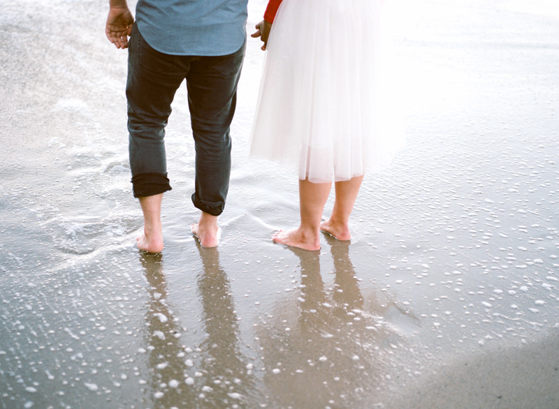 Los Angeles beach elopement photographer Jessica Schilling