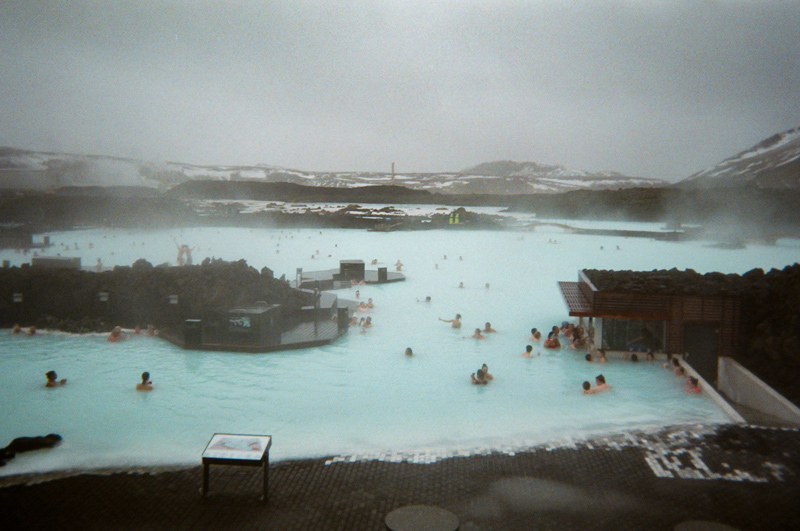 Blue Lagoon geothermal pools. Iceland travel photography on film by Jessica Schilling