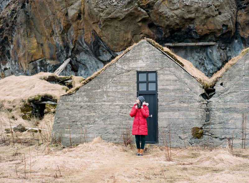 Iceland destination travel photography on film. Mamya 645 Pro TL, Kodak Portra 400