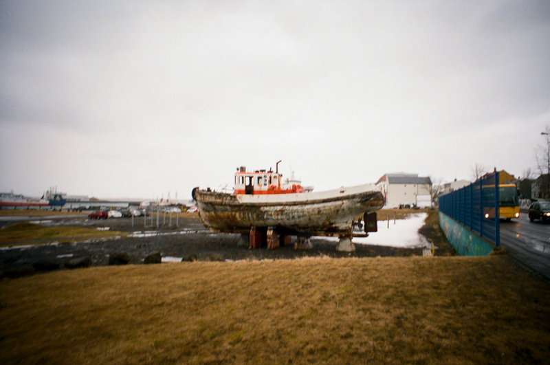 Reykjavik Iceland toy camera travel photography Lomo LC-Wide
