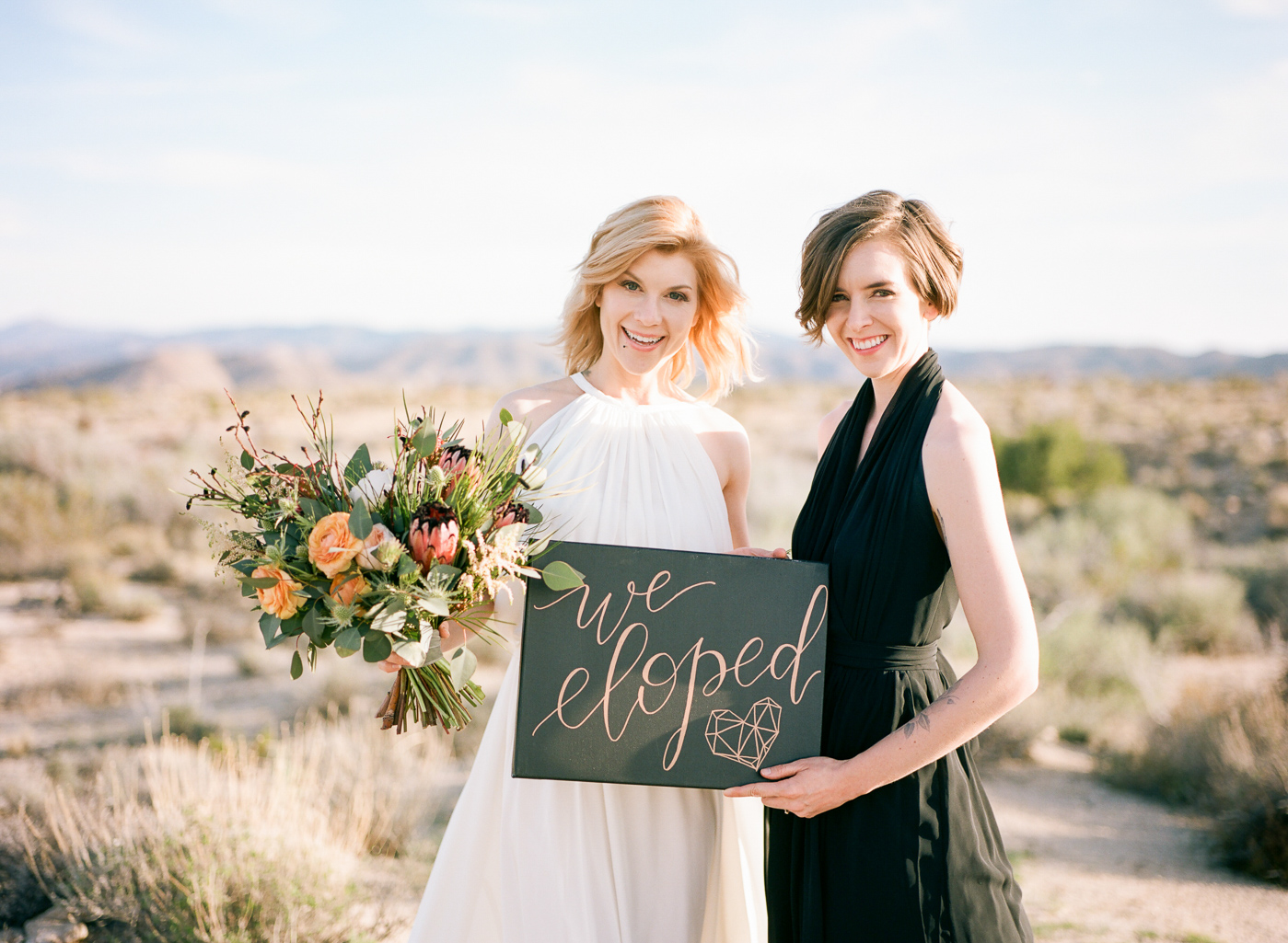 Joshua Tree elopement photographer Jessica Schilling