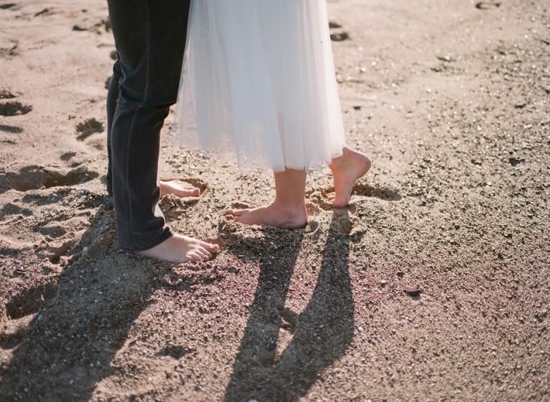 Los Angeles beach elopement photographer
