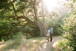 Romantic woodsy elopement location at Solstice Canyon Malibu in Los Angeles