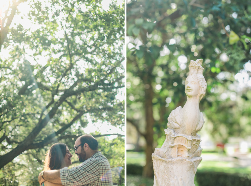 Garden engagement photography by Jessica Schilling