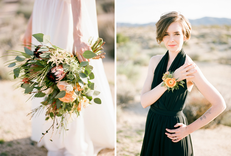 Los Angeles film photographer - intimate wedding and elopements. Florals by Martha Claire