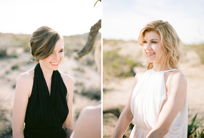 Outdoor elopements in California. Joshua Tree wedding photographer