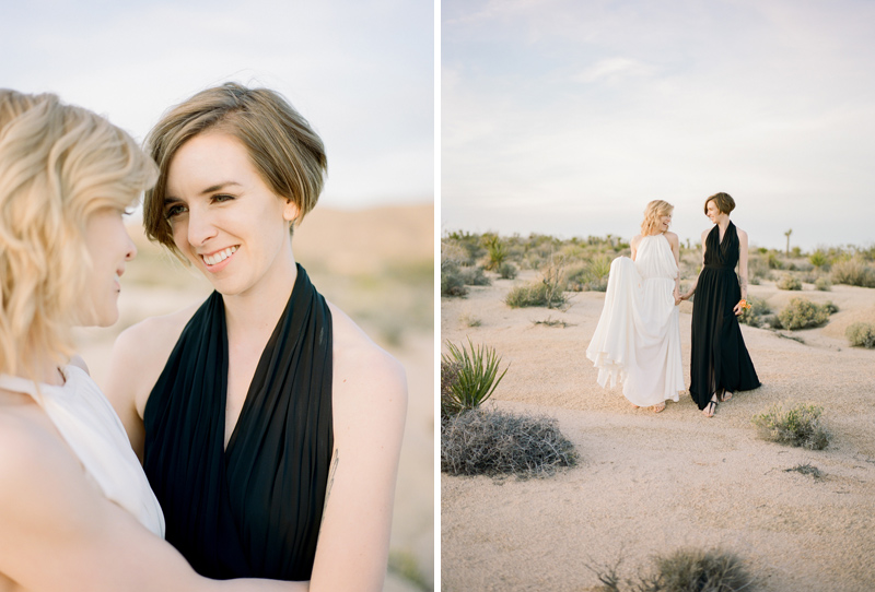 Joshua Tree elopement by film photographer Jessica Schilling