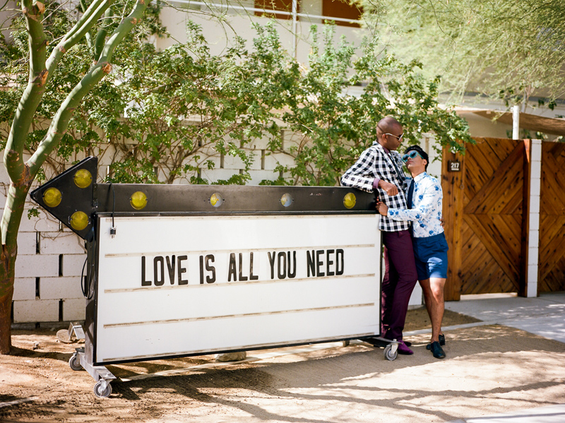 ACE Hotel Palm Springs elopement and wedding photographer Jessica Schilling