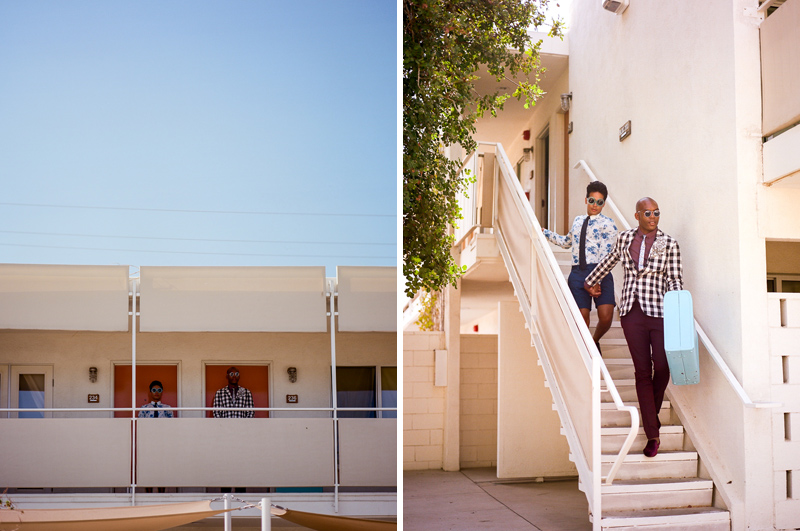 Palm Springs elopement by film photographer Jessica Schilling