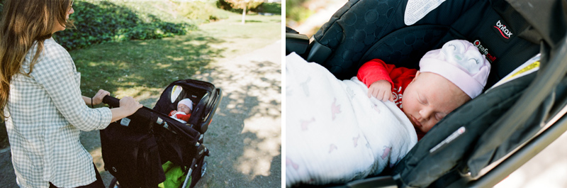 Day in the life family photography on film by Jessica Schilling