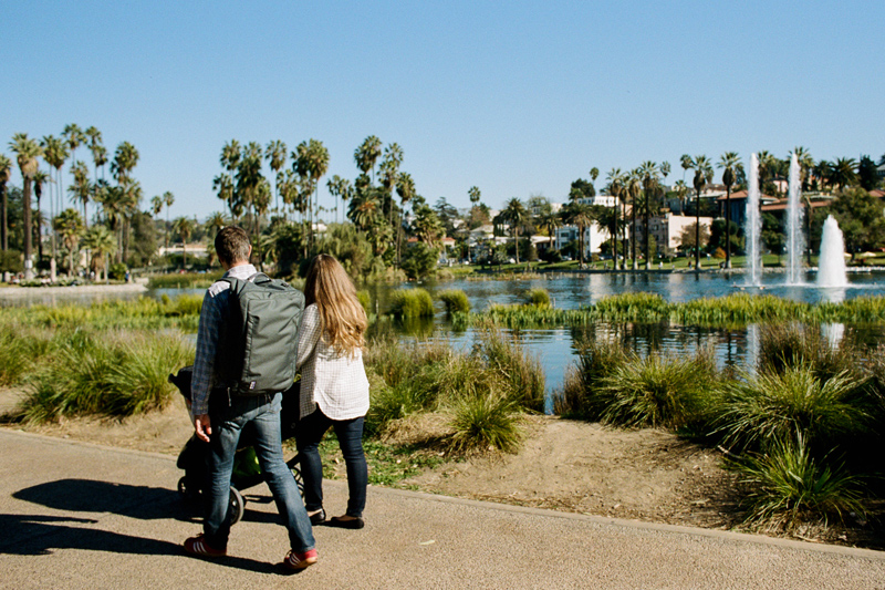Natural, relaxed, real outdoor family photography in Los Angeles