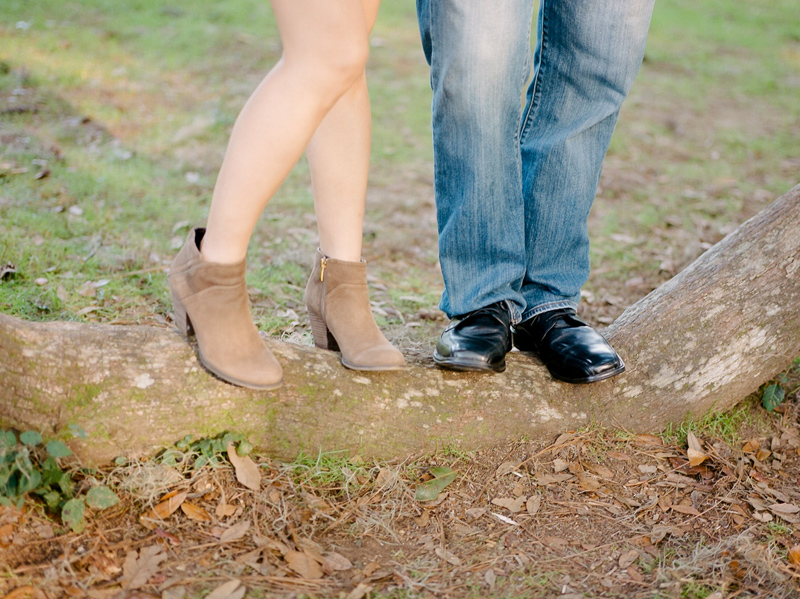 Los Angeles film photographer Jessica Schilling. Cute ankle boots for engagement photos.